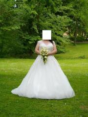 Brautkleid gebraucht gr 50