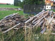 Brennholz gemischt zu