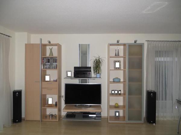 brinkmann media panel whiteart aus anbauwand in ahorn super zustand in sandhausen. Black Bedroom Furniture Sets. Home Design Ideas