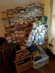 Büchersammlung 1100 verschiedene