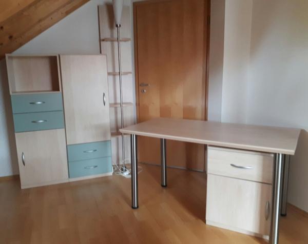 Büromöbel Birke büromöbel birke furnier mit einzelnen farbfronten sehr gut