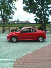 Cabrio Peugeot 206cc