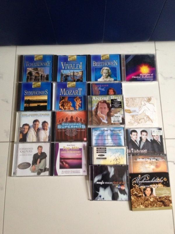 CD s Klassik und Pop