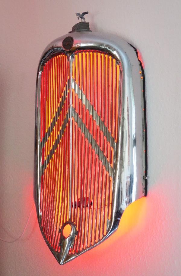 Citroën Rosalie 1934 bonnet-face with