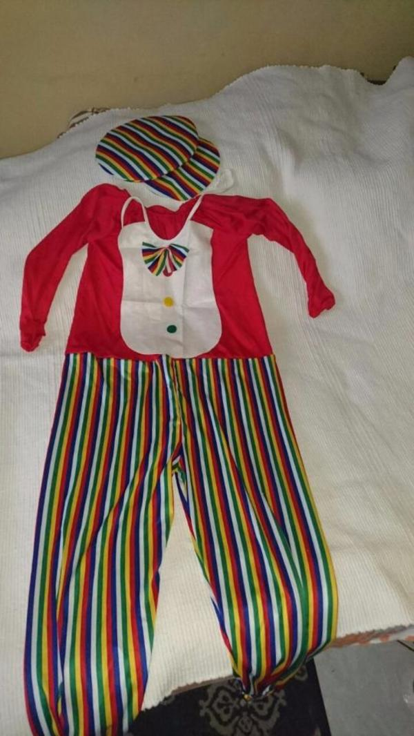 Clown Karnevalskostüm Fasnachtskostüm Faschingskostüm