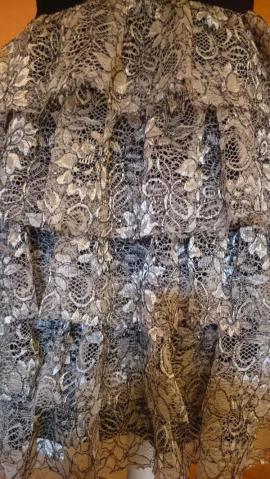 Bild 4 - Coctailkleid Ballkleid Abendkleid Beige Gold - Schechen