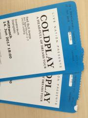 Coldplay Tickets 14.