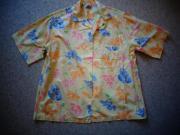Damen Sommer - Kurzarm - Bluse Hemd