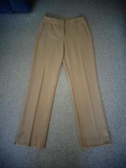 Damenbekleidung Hose Stoffhose beige Gr