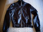 Damenbekleidung Lederjacke Jacke