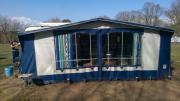 Dauercampingplatz mit Wohnwagen
