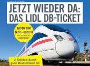 DB Ticket, LIDL