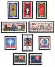 DDR-Briefmarken aus dem Jahr 1969