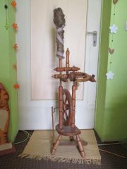 Deco-Spinnrad Holz