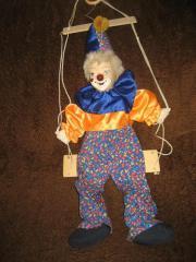 Deko - Clown, Clownpuppe,