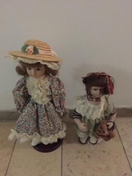 Puppen - Deko Puppen 3 Stck auf