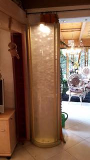 dekorative Stehleuchte (Glas)