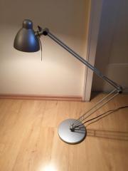 Designer Schreibtischlampe Silber 12 Volt