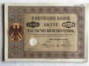 Deutsche Bank AG 1952 Berlin