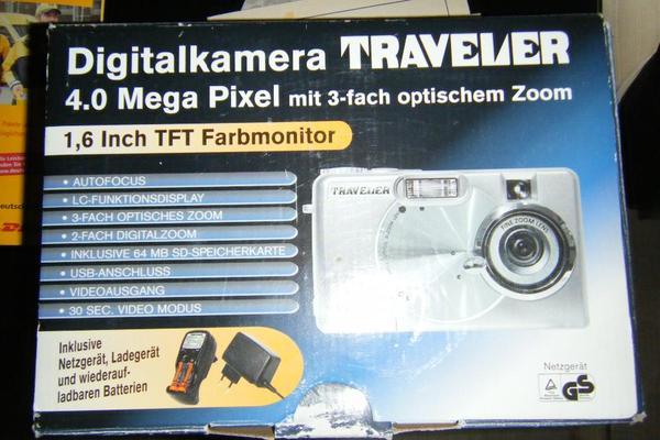 Digitalkamera - Kandel - Digitalkamera günstig abzugeben! Orginal, alles Vorhanden!Billiger geht es echt nicht mehr,,, schlagt zu! - Kandel