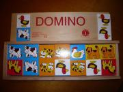 domino holz tiere