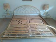 Doppelbett aus Metall