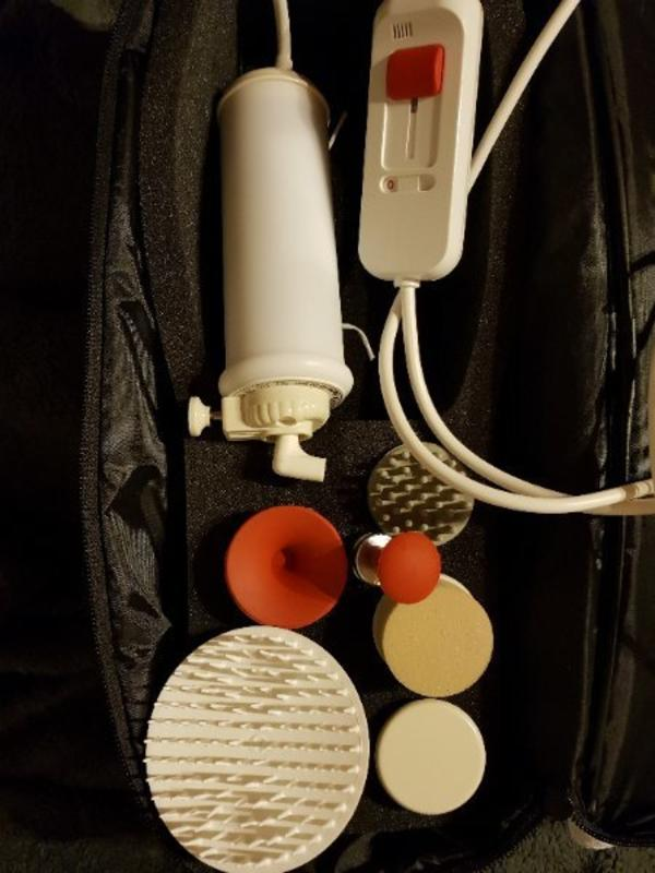 Dr. Kern Massagegerät Maspo - Ketsch - Dr.Kern Maspo Super Original Massagegerät, Klopfmassage, nur 1 mal benutzt. Neu. Mit Rechnung. Normalpreis 175 Euro - Ketsch