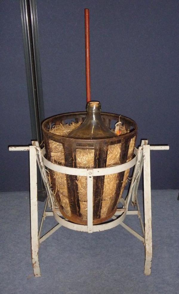 Drehgerät für Metallkorb, » Landwirtschaft, Weinbau