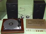 Dual Plattenspieler Stereoanlage