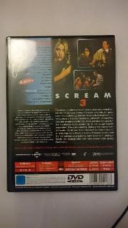 DVD scream 3