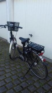 E-bike schwarz