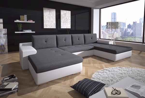 ecksofa couch milo sofa polstergarnitur top couchgarnitur u-form, Hause deko