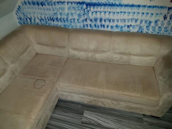 ecksofa mit bettfunktion in meiningen polster sessel couch kaufen und verkaufen ber private. Black Bedroom Furniture Sets. Home Design Ideas