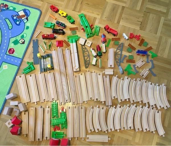 eichhorn marbletrax kugel schienenbahn murmelbahn holz eisenbahn in m nchen holzspielzeug. Black Bedroom Furniture Sets. Home Design Ideas