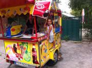 Eiswagen mobiler Verkaufsanhänger