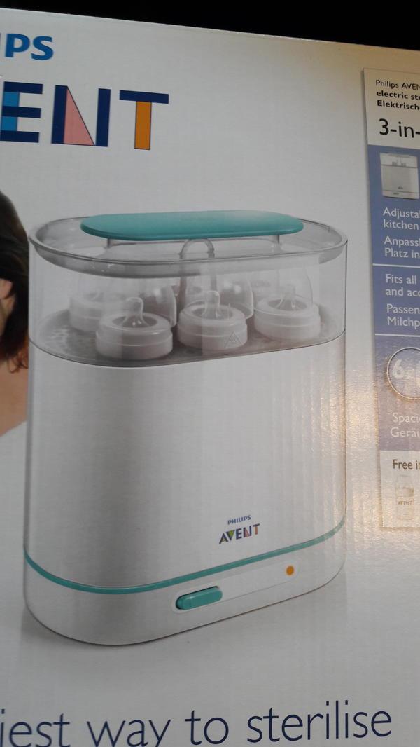 Elektrischer Dampfsterillisator 3 » Baby- und Kinderartikel