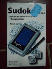 elektronisches Sudoku mit Touch Screen -