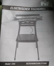 Eletr Tischgrill
