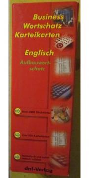 Englisch Karteikarten neu Wörterbuch Englisch-Deutsch