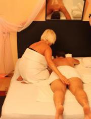 Entspannende Massage in