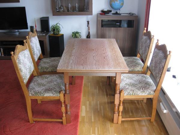 esstisch mit st hlen g nstig gebraucht kaufen esstisch mit. Black Bedroom Furniture Sets. Home Design Ideas
