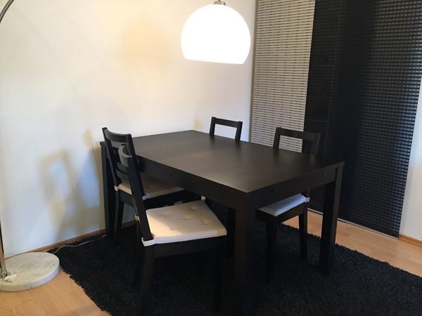 esstisch ausziehen gebraucht kaufen nur 2 st bis 70 g nstiger. Black Bedroom Furniture Sets. Home Design Ideas