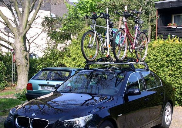 fahrradlift f r bmw 5er limousine e60 in berlin fahrrad dachgep cktr ger dachboxen kaufen. Black Bedroom Furniture Sets. Home Design Ideas