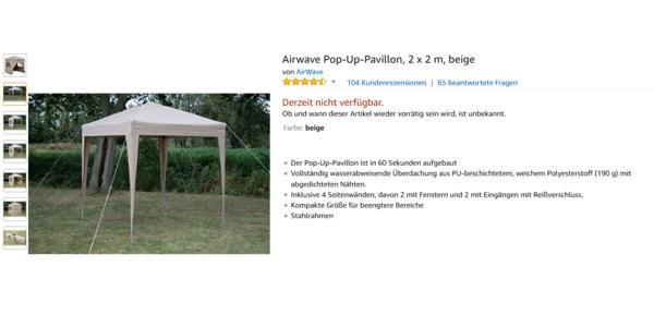 top pavillon 2x2 meter no15 kyushucon. Black Bedroom Furniture Sets. Home Design Ideas