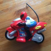 Ferngesteuerter Motorrad