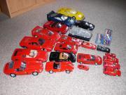 Ferrari Modellautosammlung