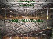 Feuerverzinkte Stahlhalle 100x100x9m