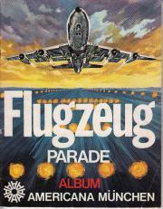 Flugzeug Parade Sammleralbum aus den