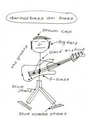 Freelancer e-Bassist
