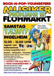 Frühjahrs-Musikerflohmarkt + OPEN